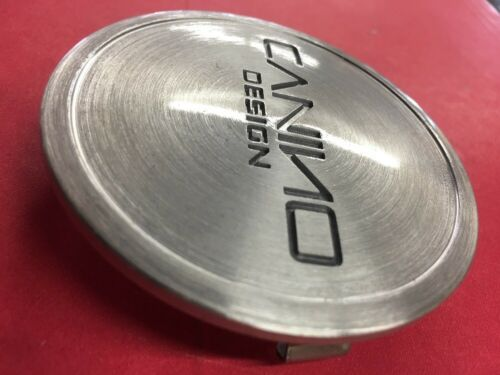 """Canino Design Wheels Center Cap MCS75YL02LS Silver Brushed 2 7//8/"""""""