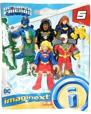 Imaginext DC Super Friends MINI FIGURES ROBIN Serie 4 Carrie Kelley