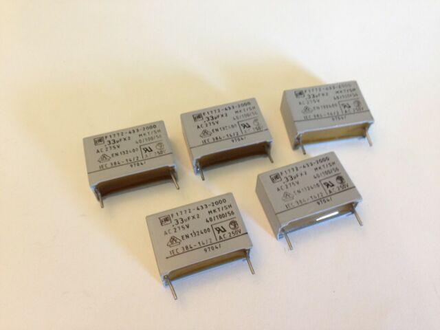 0.047uF 250V 47nF 10/% MKT1813 VISHAY Polyester Film Capacitor Axial ..... 2pcs