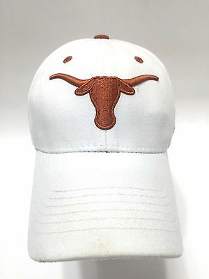 Texas Longhorns Rose Bowl 2006 NCAA Baseball Hat Cap One Fit White Wool Blend