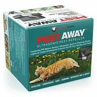 Pestaway Ultrasonic Outdoor Animal & Cat Repeller With Motion Sensor Stops Pest on sale