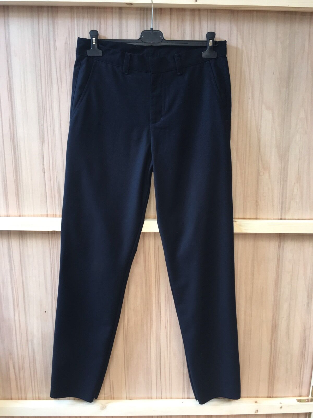 American Apparel Dark Navy Smart Trouser