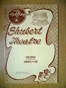 1962-Playgoer-Shubert-Theatre-47th-Anniversary-Sam-Levene-in-SEIDMAN-and-SON