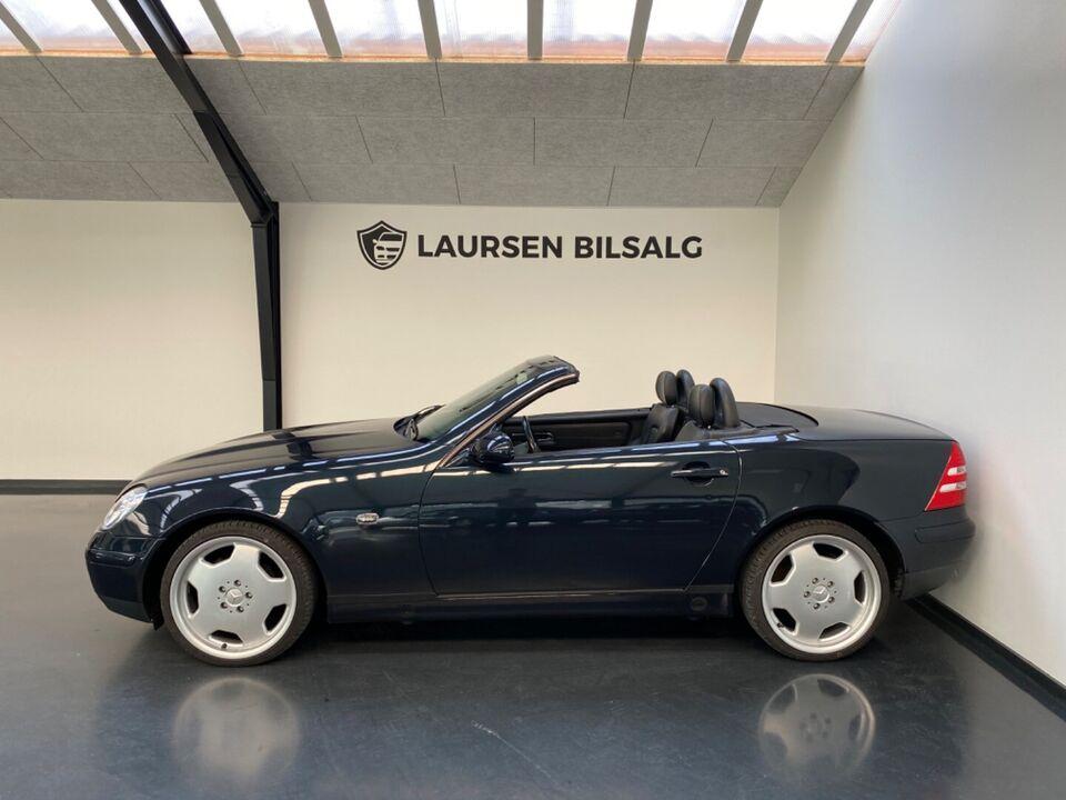 Mercedes SLK230 2,3 Komp. Benzin modelår 1997 km 230000