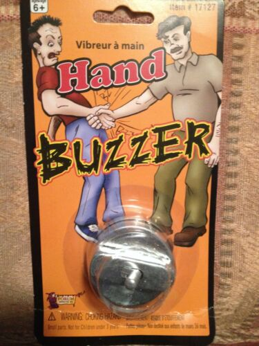 Joy Buzzer Hand Ring Pranks Jokes Gags Vibrating Fun That/'s Hilarious!
