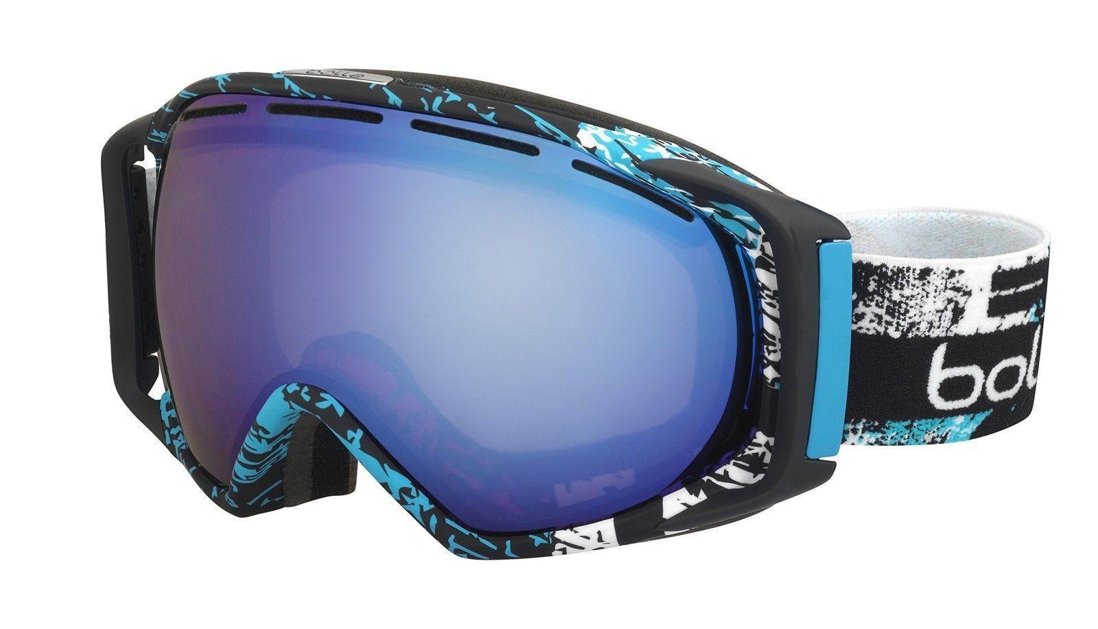 Bolle Gravity Ski Goggles Snowboarding Cat 2 bluee Lens 21295