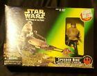 Star Wars POTF Speeder Bike With Luke Skywalker in Endor Gear 1996 Kenner