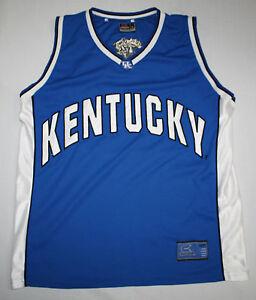 new concept 934e6 23b78 Details about Colosseum Mens XL Basketball Jersey Kentucky Wildcats #50 XL  Blue