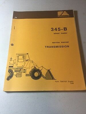 Fiat Allis 345-B Wheel Loader Electrical Systems Service Manual