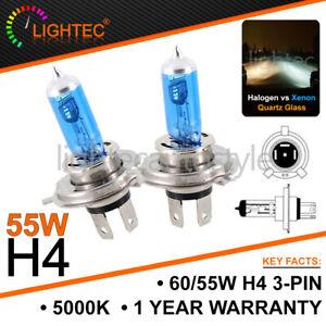 H7 55 W HID Blanc Xenon Halogène Mise à niveau AMPOULES 12 V Plasma Mise à niveau 5000K 6000K