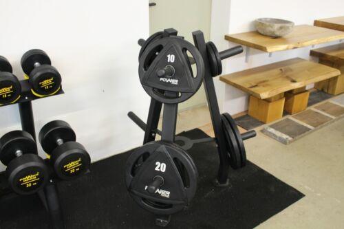70kg-Set Hantelscheiben gummiert Ø 50mm Olympia 2x 15kg und 2x 20kg Gewichte