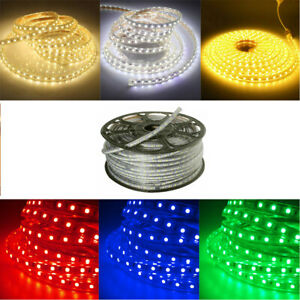 5050-SMD-60-Tira-de-Luz-LED-Impermeable-Casa-Jardin-Fiesta-Hagalo-usted-mismo-signo-Decoracion-110