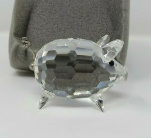 2cb704b97 Image is loading Swarovski-Crystal-Medium-Pig-With-Wire-Tail-010031-