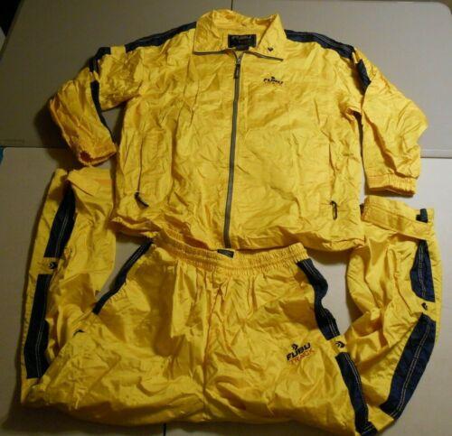 FUBU US Track Cross Training Systems Yellow Jacket