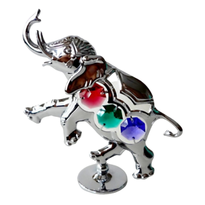Crystocraft-Elephant-Crystal-Ornament-With-Swarovski-Elements-Gift-Boxed