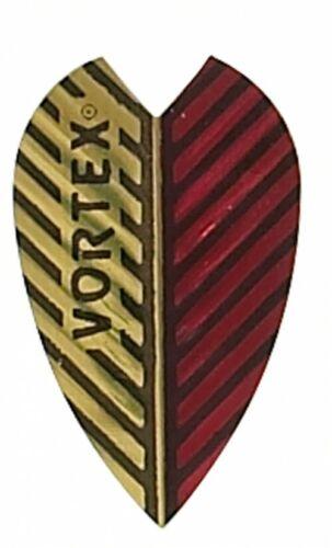 HARROWS VORTEX RED /& GOLD FLIGHTS
