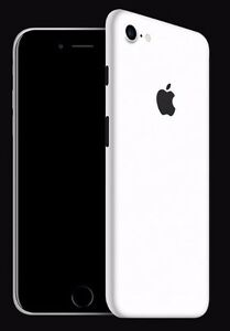 timeless design 3b515 53226 Details about iPhone 7 dbrand premium skin matte white TOP OF THE LINE with  apple cutout