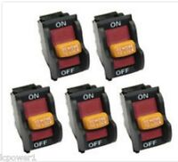 [hom] [bd46125] (5) Ridgid Ryobi Bd46023 (j-9301 E156275) Power Switch
