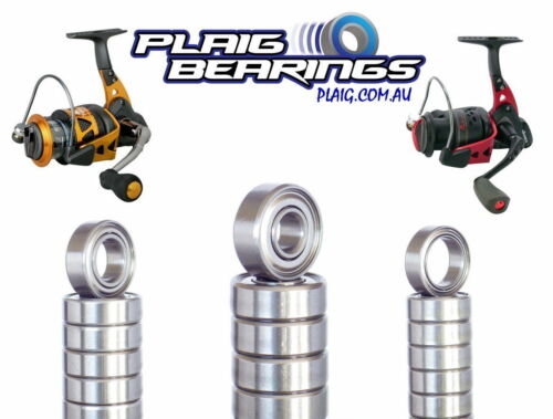 Fishing Reel Bearings High Quality Stainless Steel Balls Corrosion Resistant