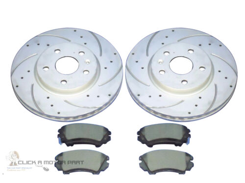 321MM VAUXHALL INSIGNIA 2.0 CDTi SRi FRONT DRILLED GROOVED BRAKE DISCS /& PADS