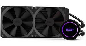 NZXT Kraken X62 High-performance 280mm Liquid Cooler With Lighting and Cam  Controls