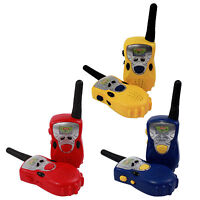 2 Pack Kids Walkie Talkies Two Way Radio Set 100 Meter Range (3 Colors)