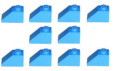 Missing Lego Brick 3040b Black x 10 Slope Brick 45° 2 x 1