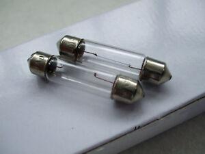 Paire de vintage morris 8 série e 6v trafficator ampoules lucas sf 40 free uk post