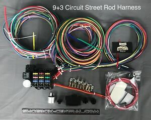 details about rebel wire 12 volt wiring harness, 9 3 circuit universal kit, made in the usa!!  9 volt wiring harness #3