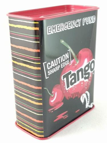 TANGO MONEY BOX Collectable Emergency Fund Official Licensed Rectangle Tin