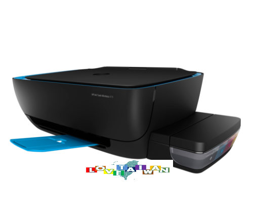 HP Ink Tank Wireless 419 Photo and Document All-in-one Printer With Inkset