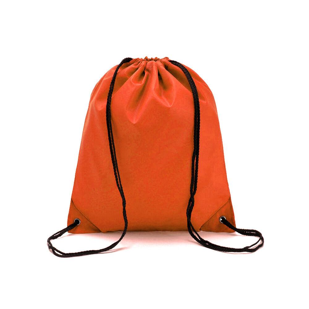 School Drawstring Book Bag Sport Gym Swim PE Dance Shoe Backpack ... e441d4fae4082