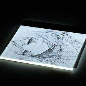 Portable A5 Light Box Accessories LED Tracing Light Box Board A5 Art Drawing Copy Pad Table+USB Cable Darkroom Supplies