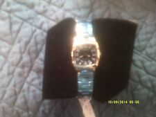 J.SPRINGS - Ladies Watch - Sapphire Face w/  Silver - BBE020 - New