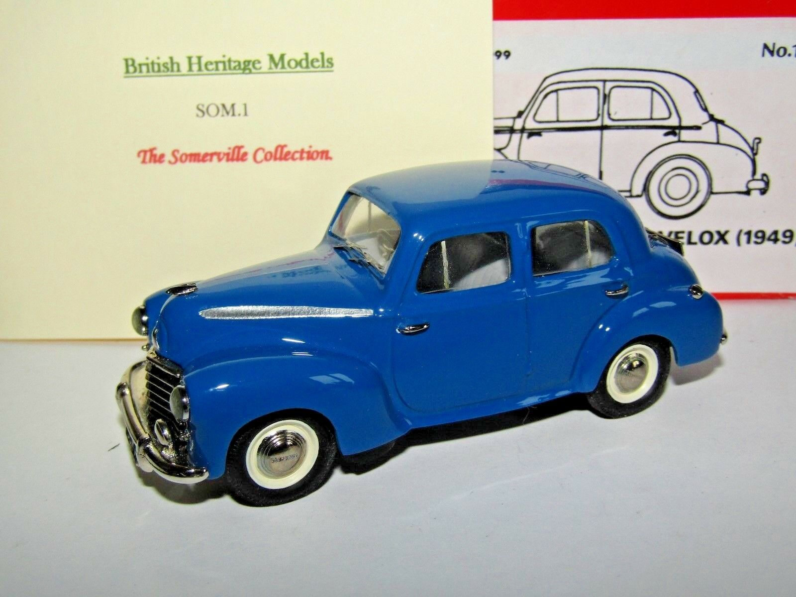 buscando agente de ventas Somerville BHM Opel Opel Opel L-Tipo Velox 1949 Azul 1 43 149 edición limitada de 300  artículos de promoción