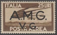 Italy Allied Occupation Military Govt AMG-VG #1LNC6 MNH 25L brown 1947 cv $35