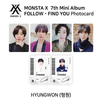 MONSTA X IM I.M #2 Authentic Official PHOTOCARD FOLLOW FIND YOU Mini Album