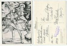 34864-Hans Baldung riconobbero: il Santo Cristoforo-vecchia cartolina