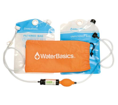 Aquamira WaterBasics Bag to Bag Water Filtration Kit Gravity Filter System