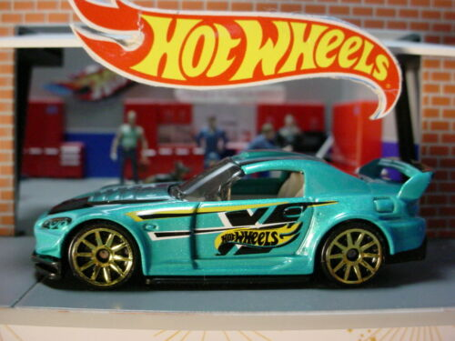 Details about  / HONDA S2000 ☆Teal-Blue; Gold 10sp☆multi pack Exclusive☆2017 Hot Wheels LOOSE