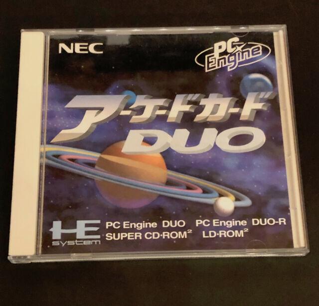 PC Engine Duo Card ~ PCE-AC1 Super CD-Rom2 COMPLETE IN BOX Hu-Card