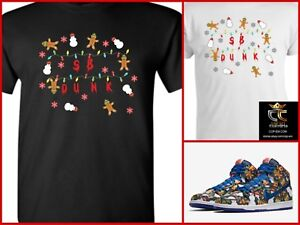 70b4c135c82 Details about EXCLUSIVE TEE T-SHIRT to match Concepts x NIKE SB Dunk Ugly  Christmas Sweater!