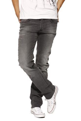 MENS Lee Daren Deep Grey SLIM Straight fit Stretch Jeans RRP £85 Seconds  L159