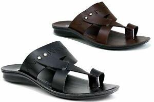 MEN-039-S-NEW-CASUAL-TOE-POST-COMFY-SLIP-ON-SUMMER-BEACH-WALKING-SANDALS-KURTA