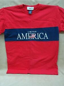 "VINTAGE 1990'S ""LIMITED AMERICA"" FROM THE LIMITED TEE SHIRT SZ 16/18 YOUTH! MINT"
