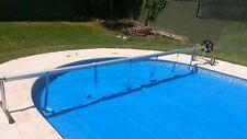 Enrollador (max 4,2m.) para manta térmica o cobertor solar de piscina.
