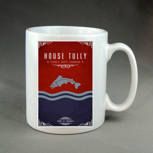 Game of Thrones Mugs Choice of Houses Gift Present Stark Lannister Tyrell