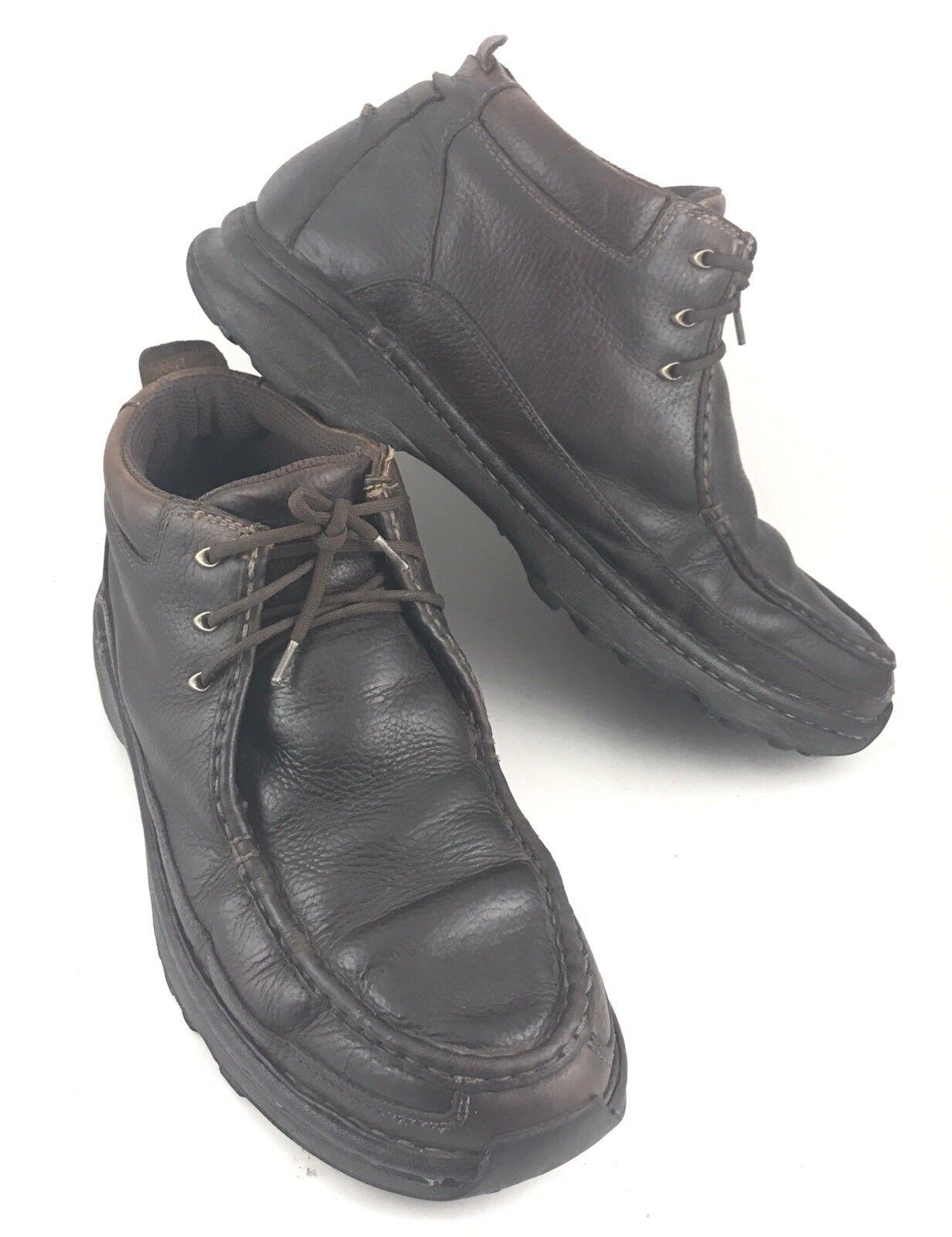 L.l.bean 0dfj304 Uomo sz 12 di pelle marrone moctoe ohukka caviglia laceup boots-381