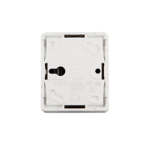 Jarolift Interrupteur tenue d/'apparat Interrupteur va et vient volet roulant Rohrmotor 230 V Balance Astre Blanc