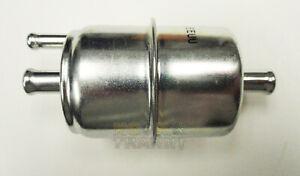 Universal Carbureted Inline Fuel Filter Anti-Vapor Lock Style 3/8